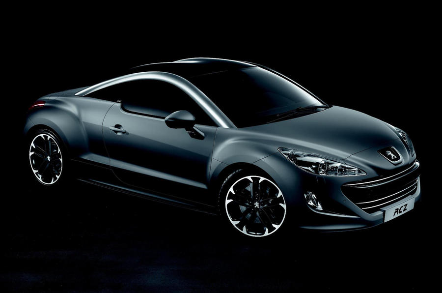 Asphalt edition RCZ from £29,995