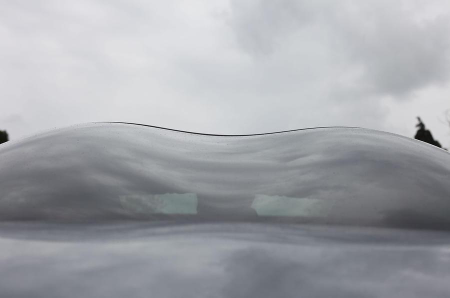 Peugeot RCZ double bubble roof