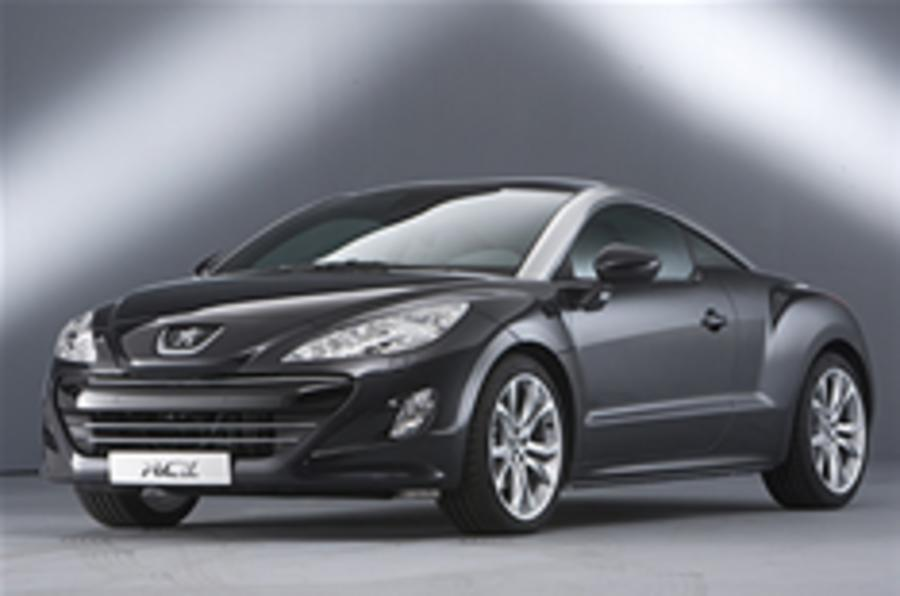open top peugeot rcz planned autocar. Black Bedroom Furniture Sets. Home Design Ideas