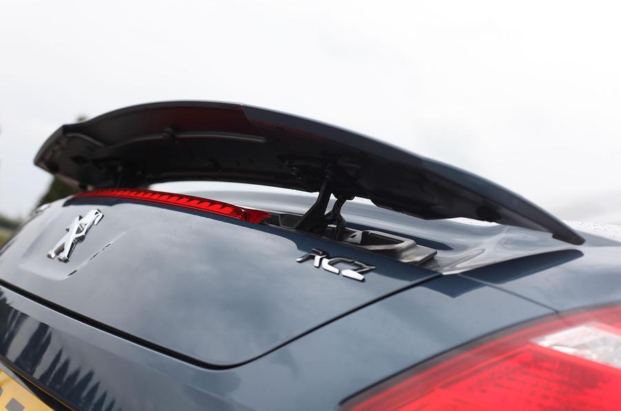 Peugeot RCZ rear spoiler