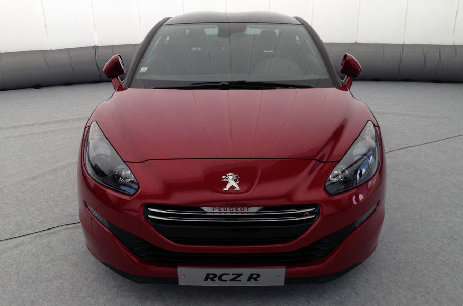 Peugeot RCZ R revealed at Goodwood