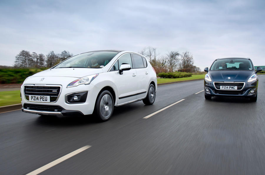 Peugeot 3008 and 5008