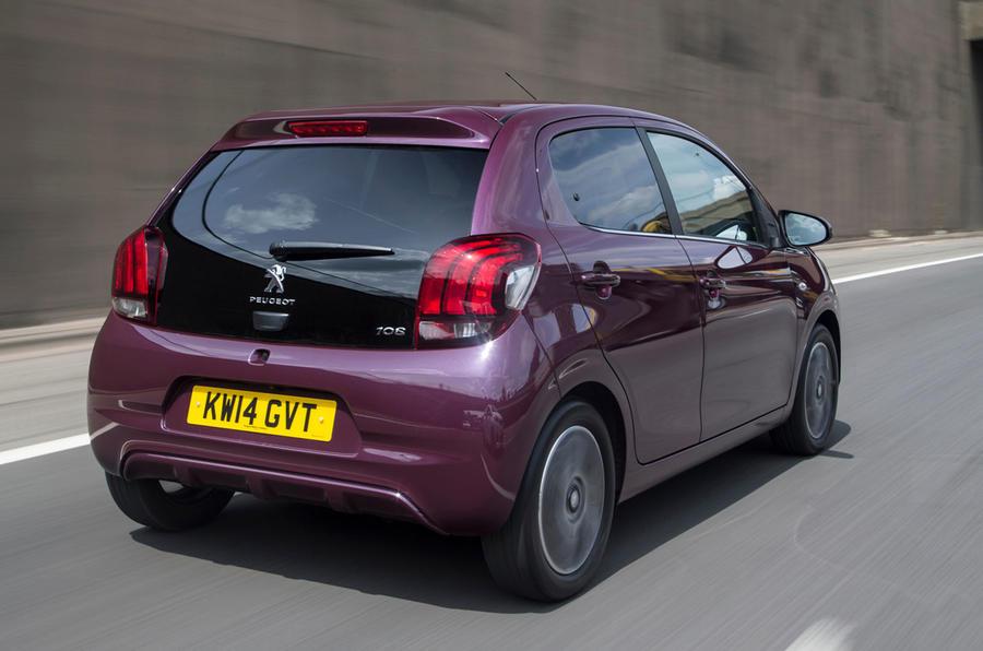 Peugeot 108 rear