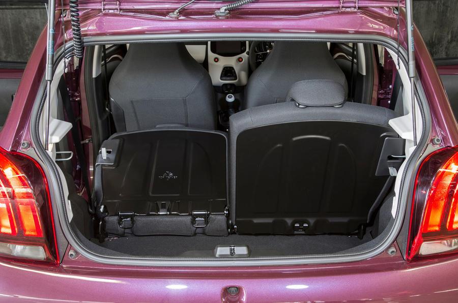 Peugeot 108 seat flexibility