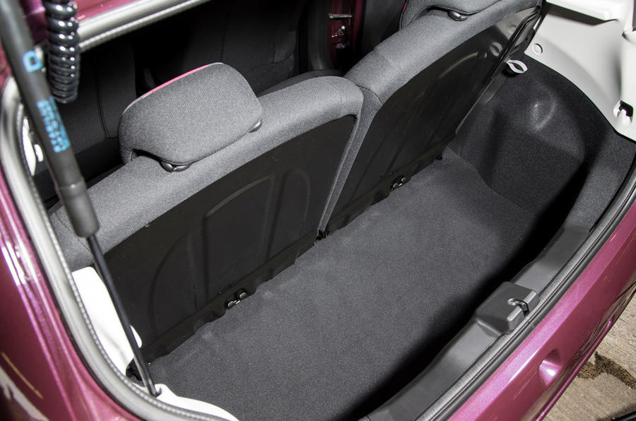 Peugeot 108 boot space