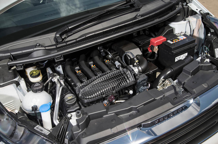 Peugeot 108 three-cylinder engine