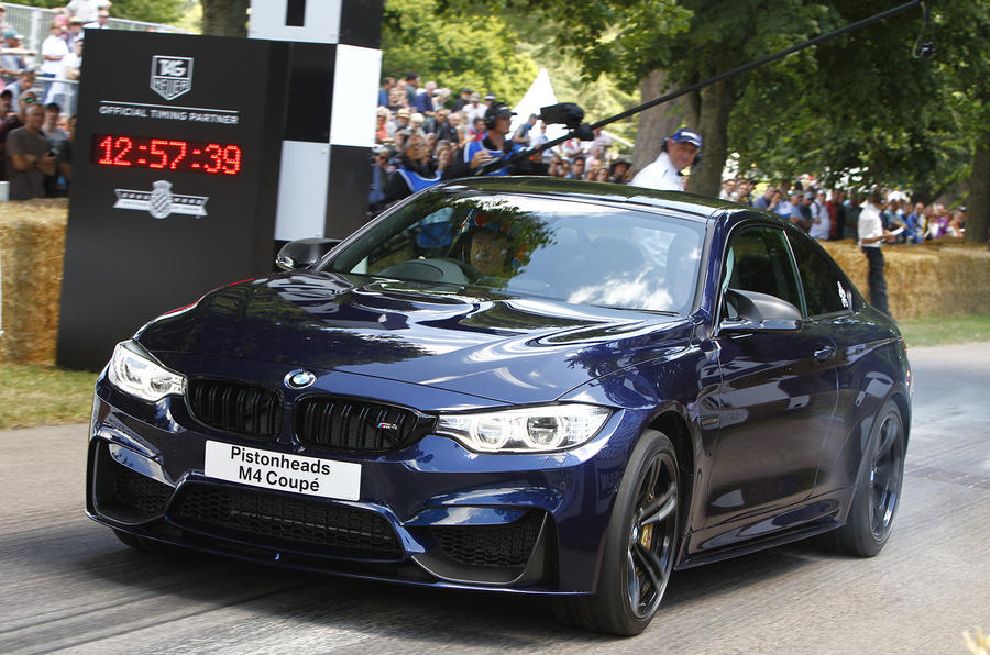 Bespoke BMW M4 headed for Goodwood