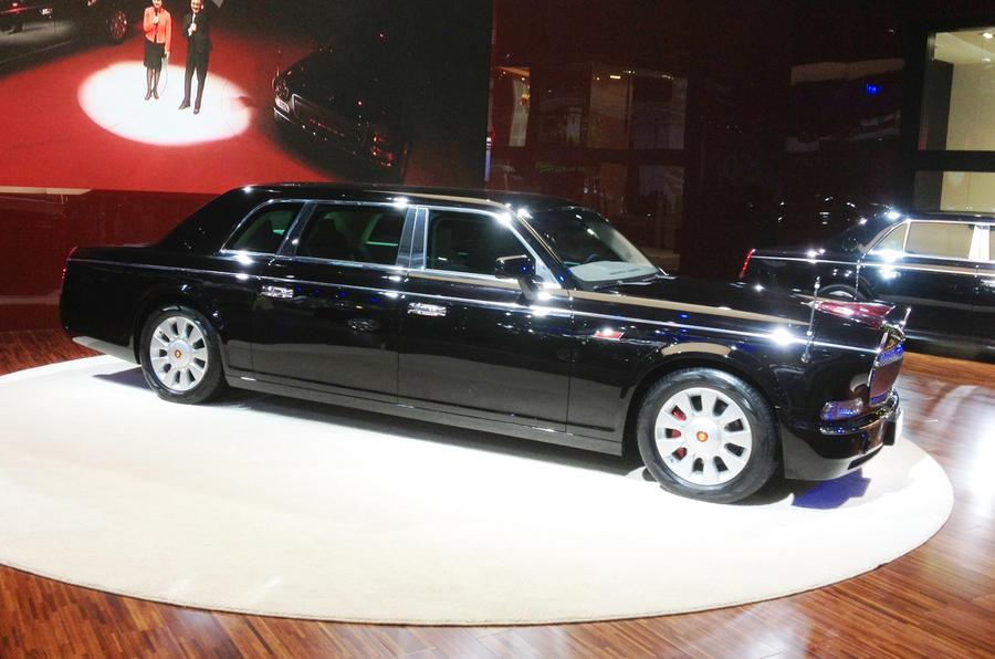 Hongqi reveals Bentley rival: Shanghai motor show 2013