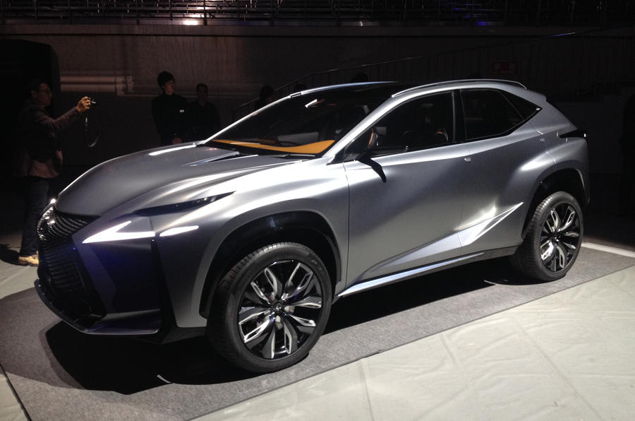 Lexus shows turbocharged LF-NX concept in Tokyo