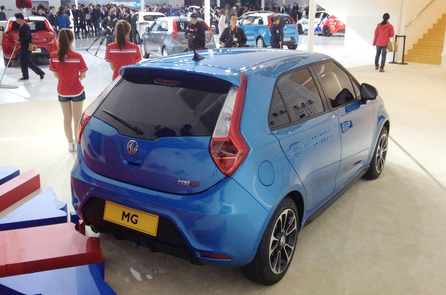MG3 European specification revealed: Shanghai motor show 2013