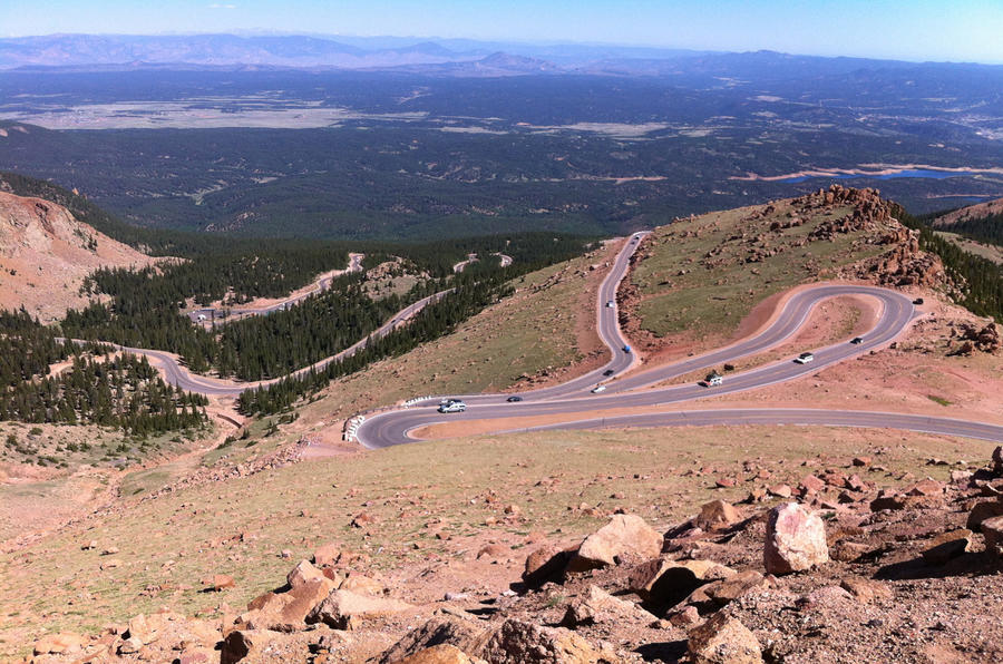 Live from Pikes Peak: Peugeot's bomb is ticking