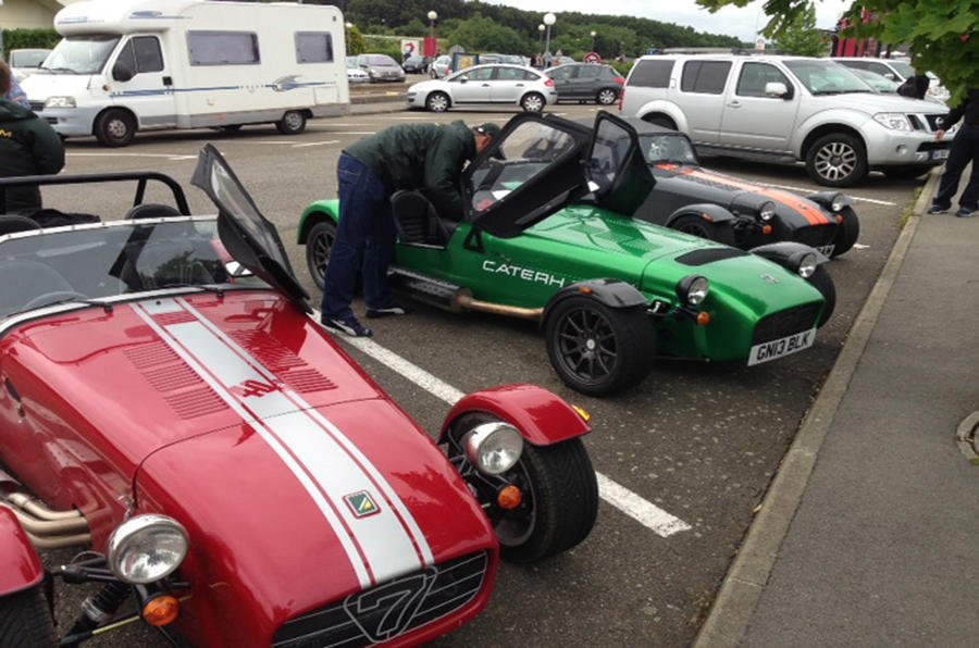 One icon to another: driving to Le Mans in a Caterham Seven