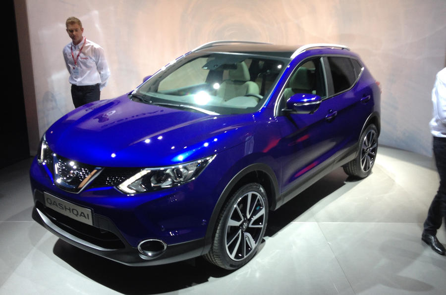 Nissan Qashqai no longer needs to be admired from afar