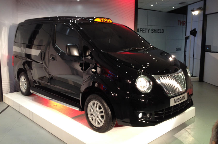 Nissan NV200 Taxi for London revealed