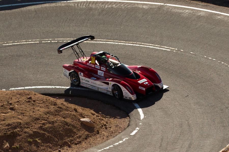 Mitsubishi's Pikes Peak EV in detail