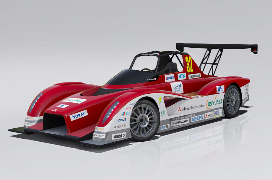 Electric Mitsubishi set to tackle Pikes Peak hill climb