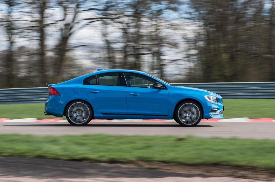 Volvo S60 Polestar side profile