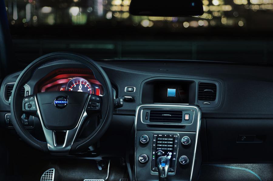 Volvo S60 Polestar dashboard