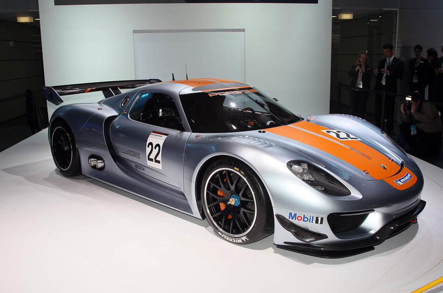 918 road car will be Spyder