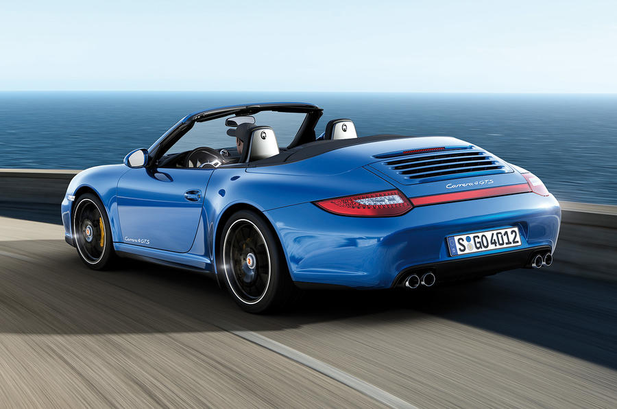 4WD 911 GTS announced