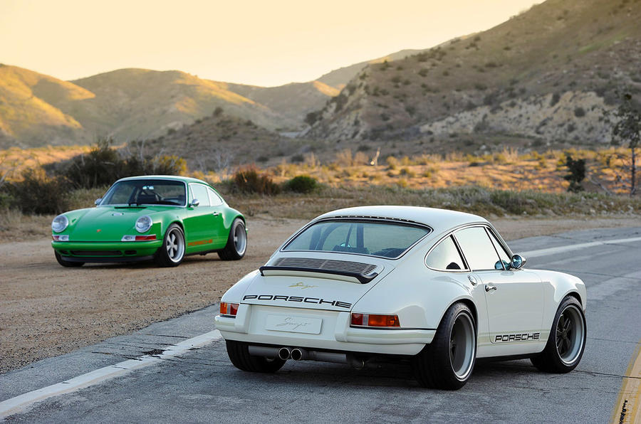 Singer 911 teams up with Cosworth