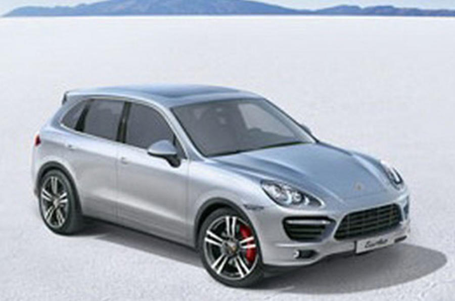 Porsche Cayenne 'pictured'