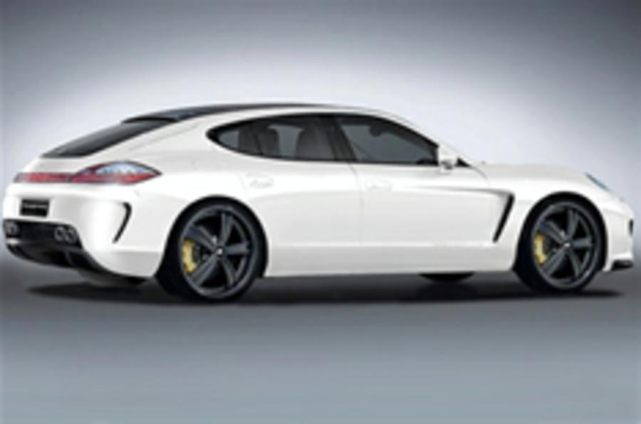 Gemballa Panamera leaks out