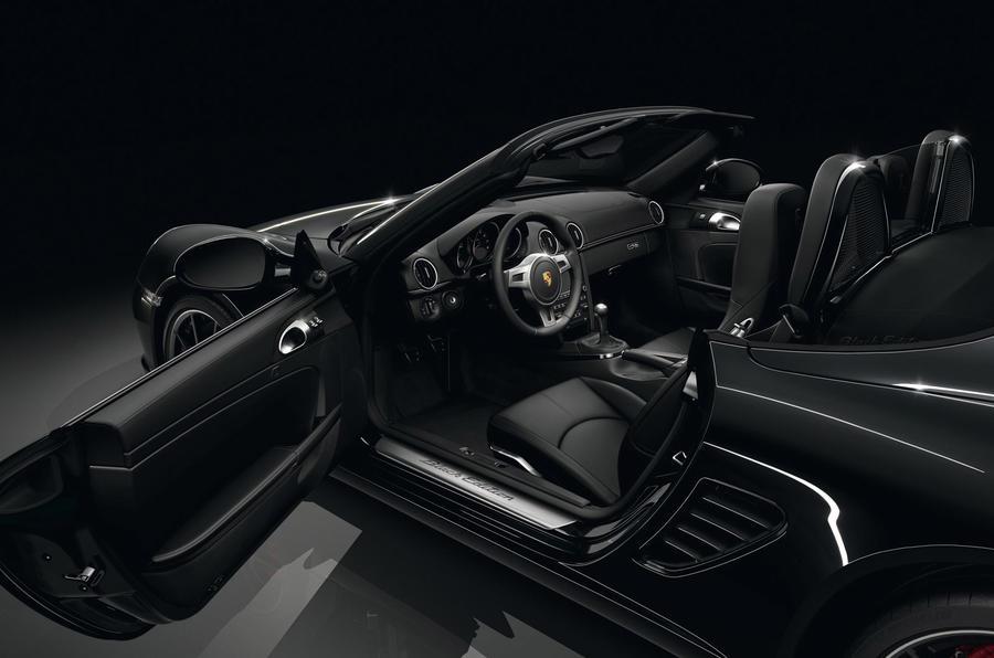 Geneva show: Boxster S Black Edition