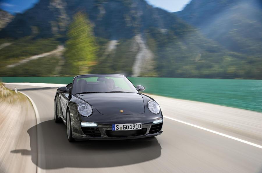Geneva motor show: Porsche 911 Black ed.