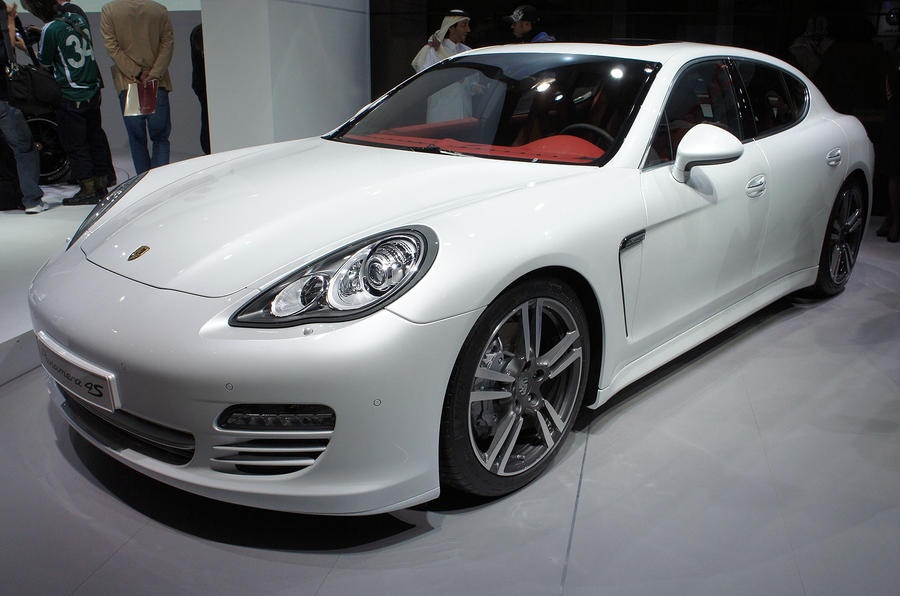 Porsche's new limited Panamera