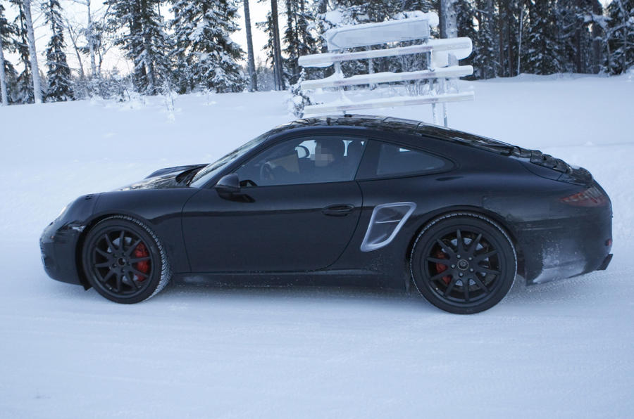 Next Porsche 911 - new spy pics