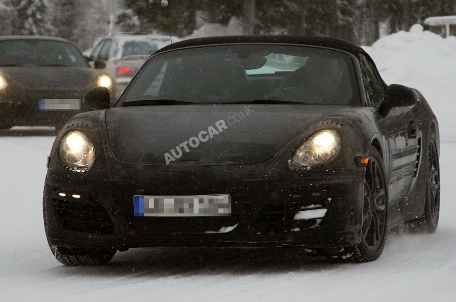 Next Porsche Boxster - new pics