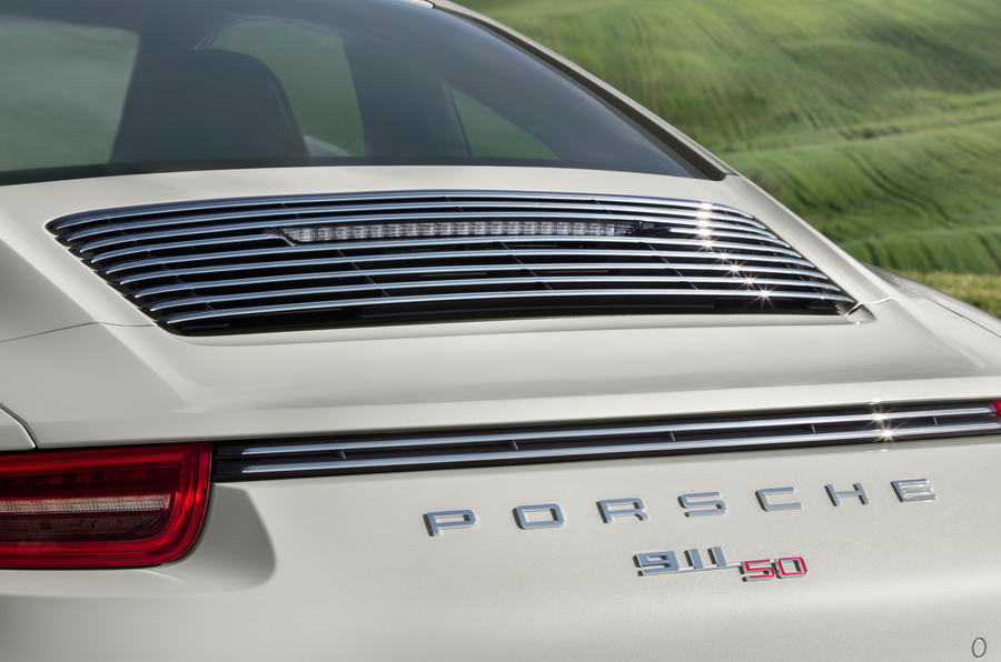 Porsche 911 50 Years Edition unveiled