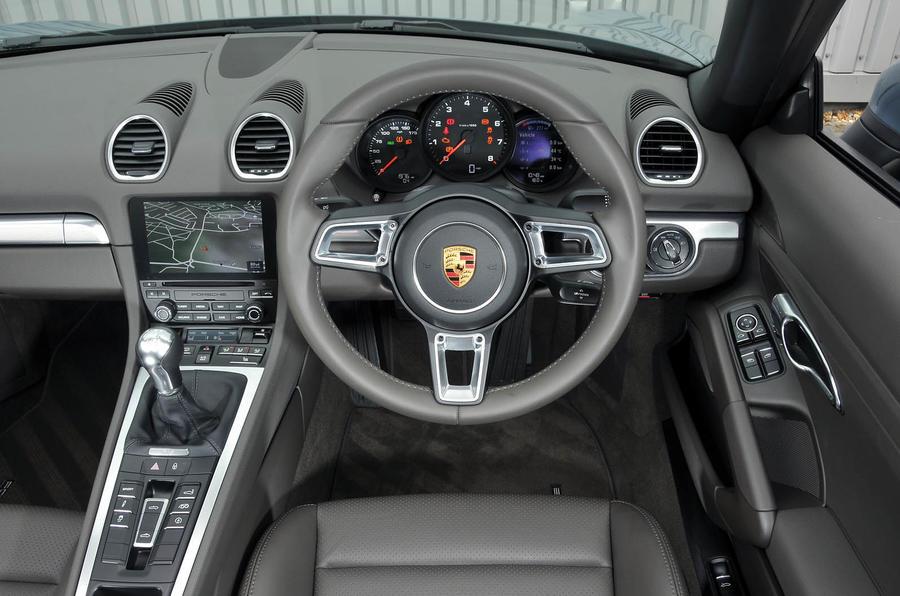 Porsche 718 Boxster Interior Autocar