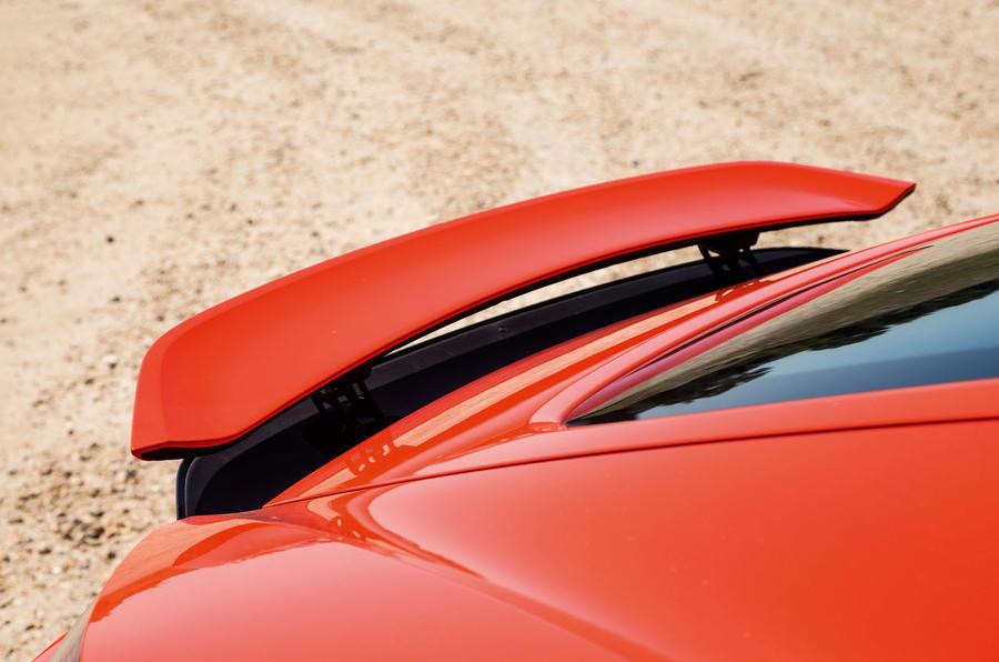Porsche 718 Cayman rear spoiler