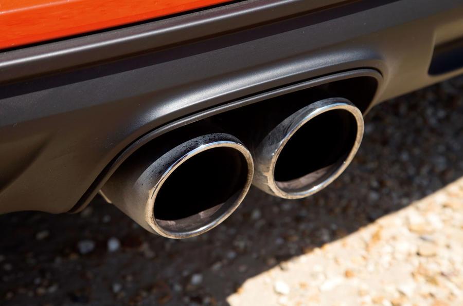 Porsche 718 Cayman twin exhaust