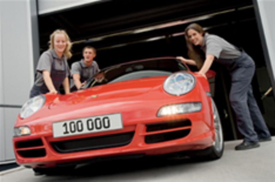 100,000th Porsche 997 rolls off the line