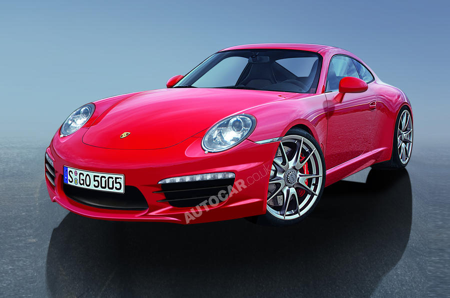 Next Porsche 911 in detail