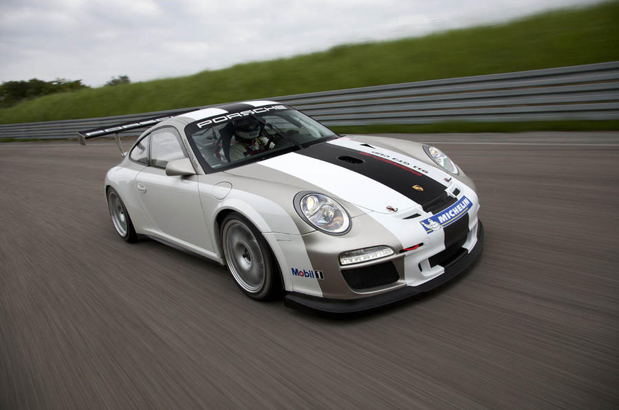 Porsche 911 GT3 racer revised