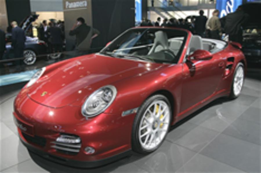Frankfurt motor show: Porsche 911 Turbo