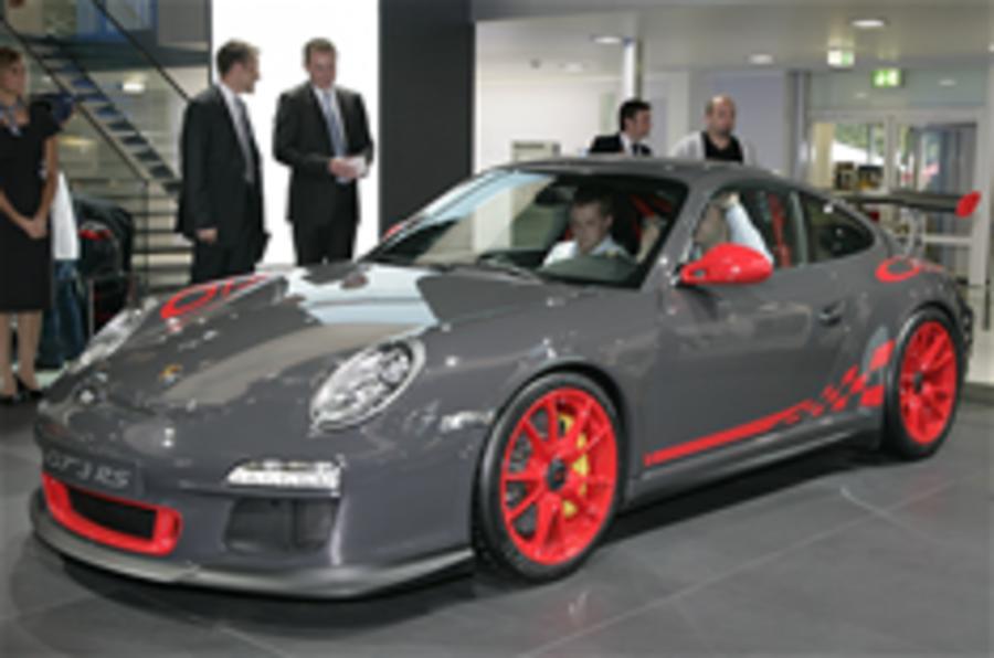 Frankfurt update: Porsche 911 GT3 RS