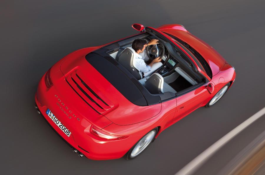 Detroit show: Porsche 911 cabrio