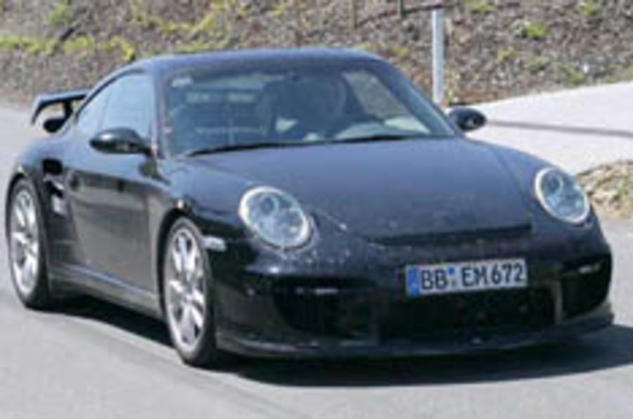 The 911 evolution continues: GT2 spied