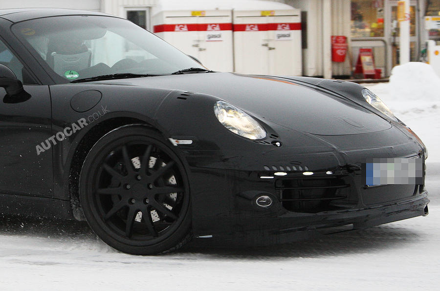 New Porsche 911 - spy video