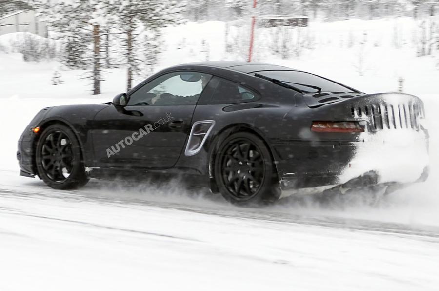 New Porsche 998 spied testing