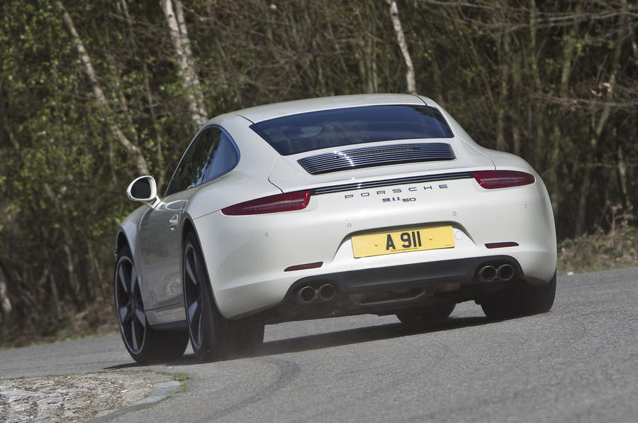 Porsche 911 50th Anniversary Edition first drive review