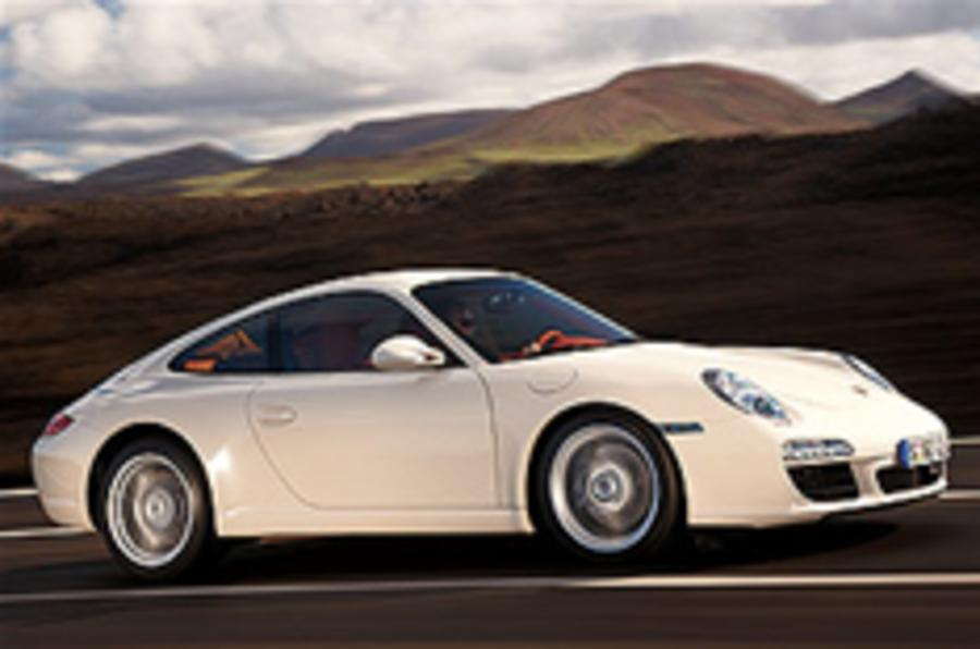 First look: new Porsche 911