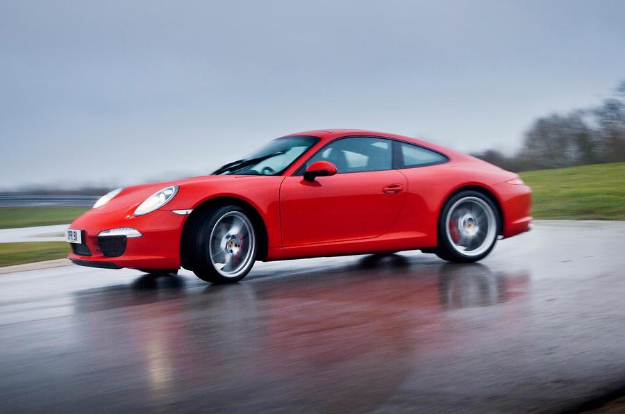 The 345bhp Porsche 911 Carrera