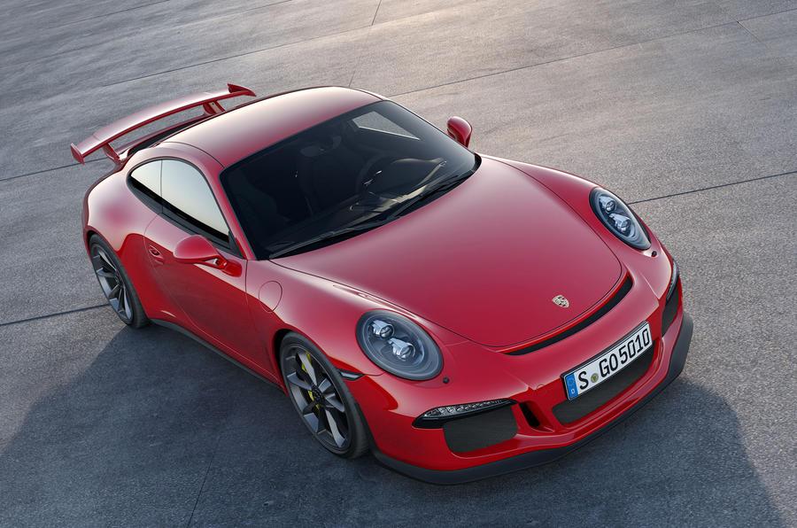 New York motor show: Porsche 911 GT3