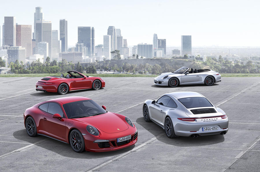 New 424bhp Porsche 911 Carrera GTS revealed